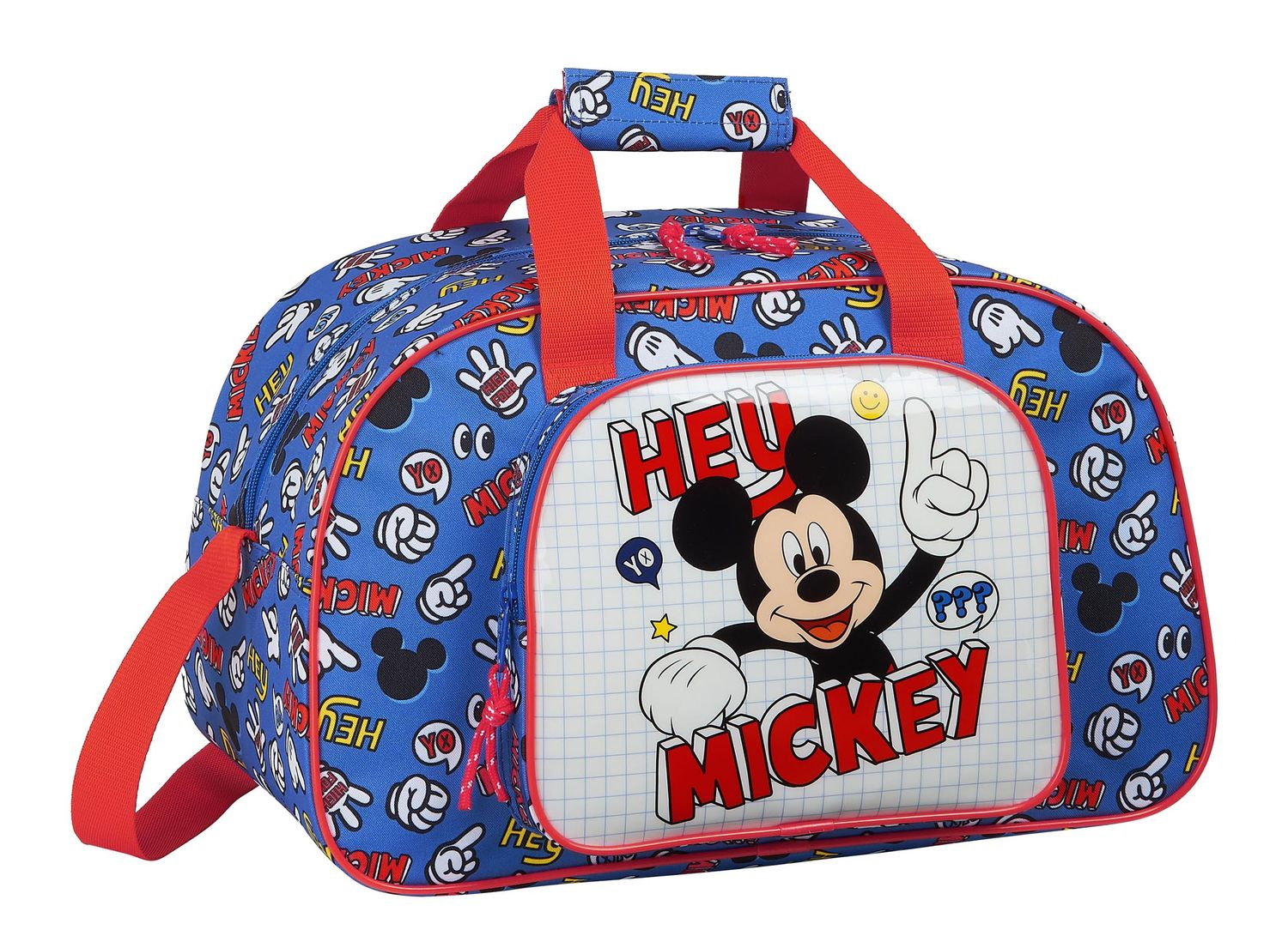 Disney MICKEY MOUSE THINGS Sports Holdall Bag 40cm – image 1