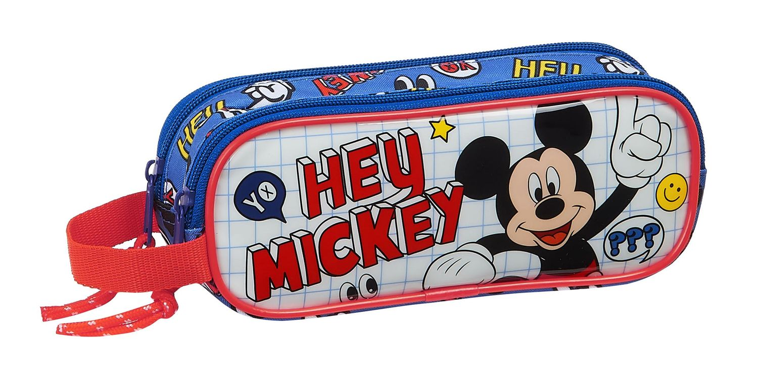 Disney MICKEY MOUSE THINGS Double Pencil Case 21 cm – image 1