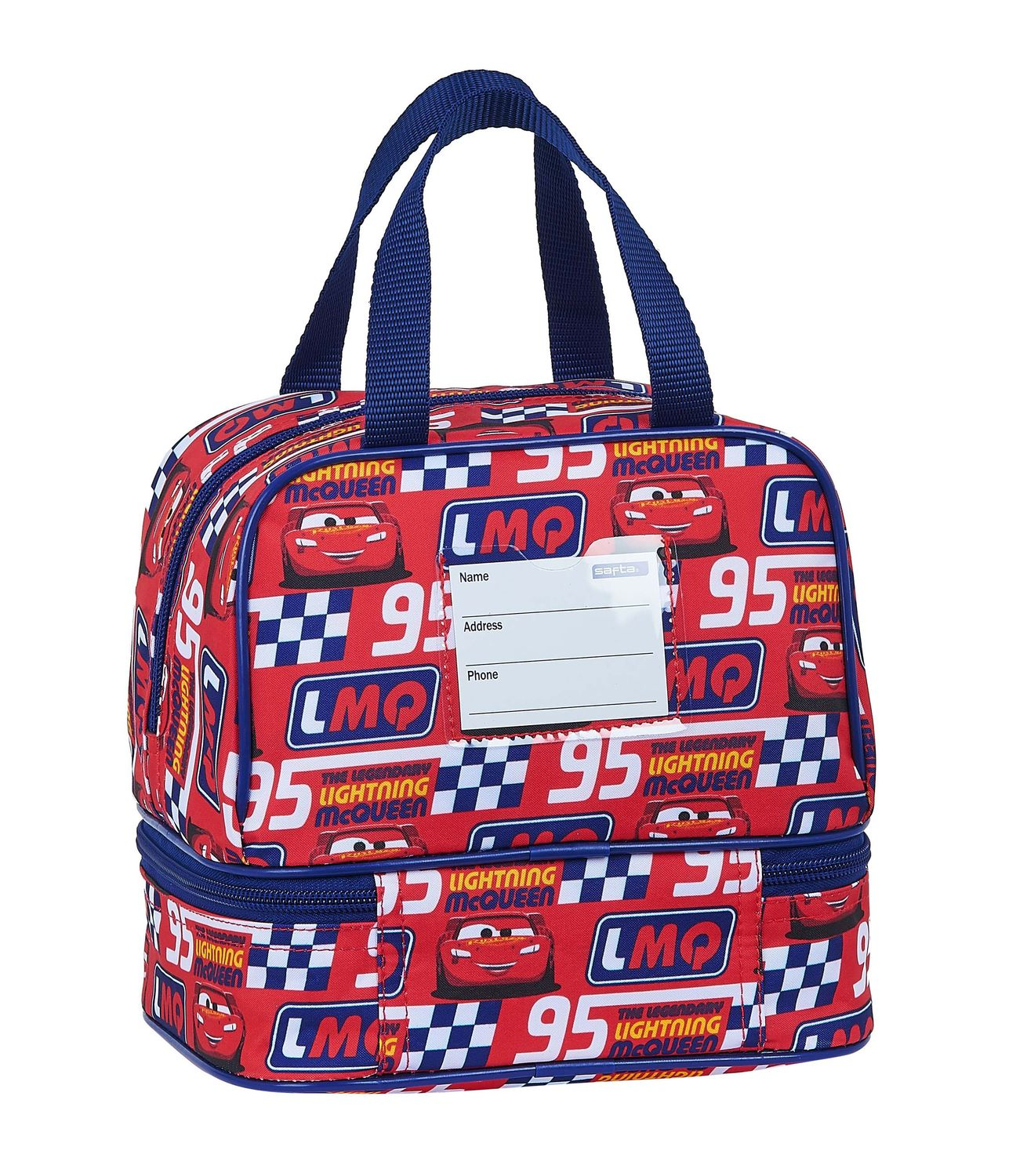 Disney CARS RACING BLOCK Lunch Bag Double – image 2
