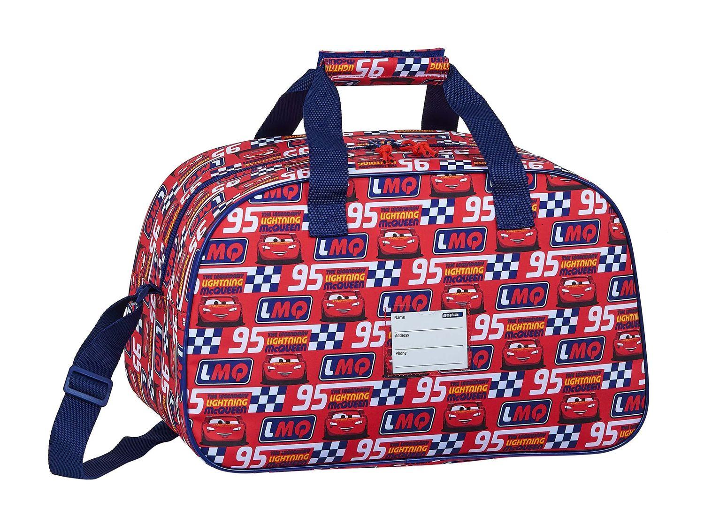 Disney CARS RACING BLOCK Sports Holdall Bag 40cm – image 2