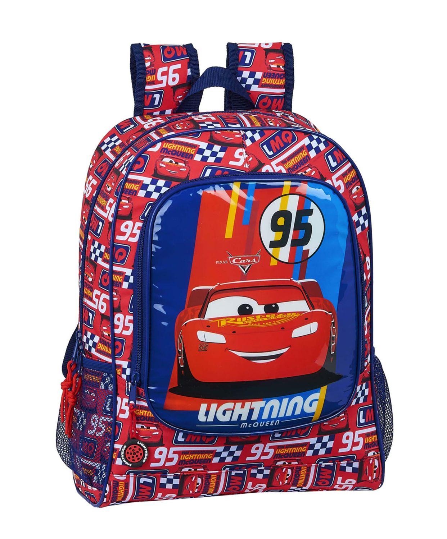 Disney CARS RACING BLOCK Backpack Rucksack 42cm – image 1