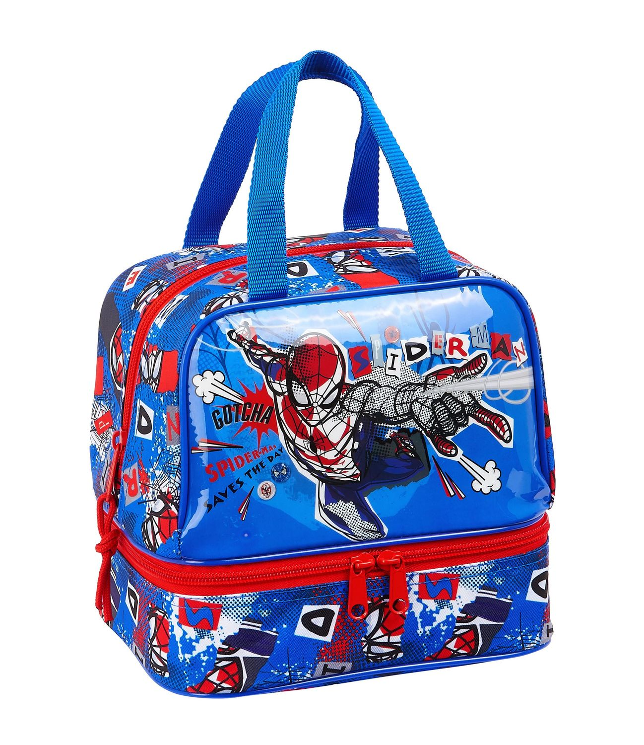 SPIDERMAN PERSPECTIVE Lunch Bag Double – image 1