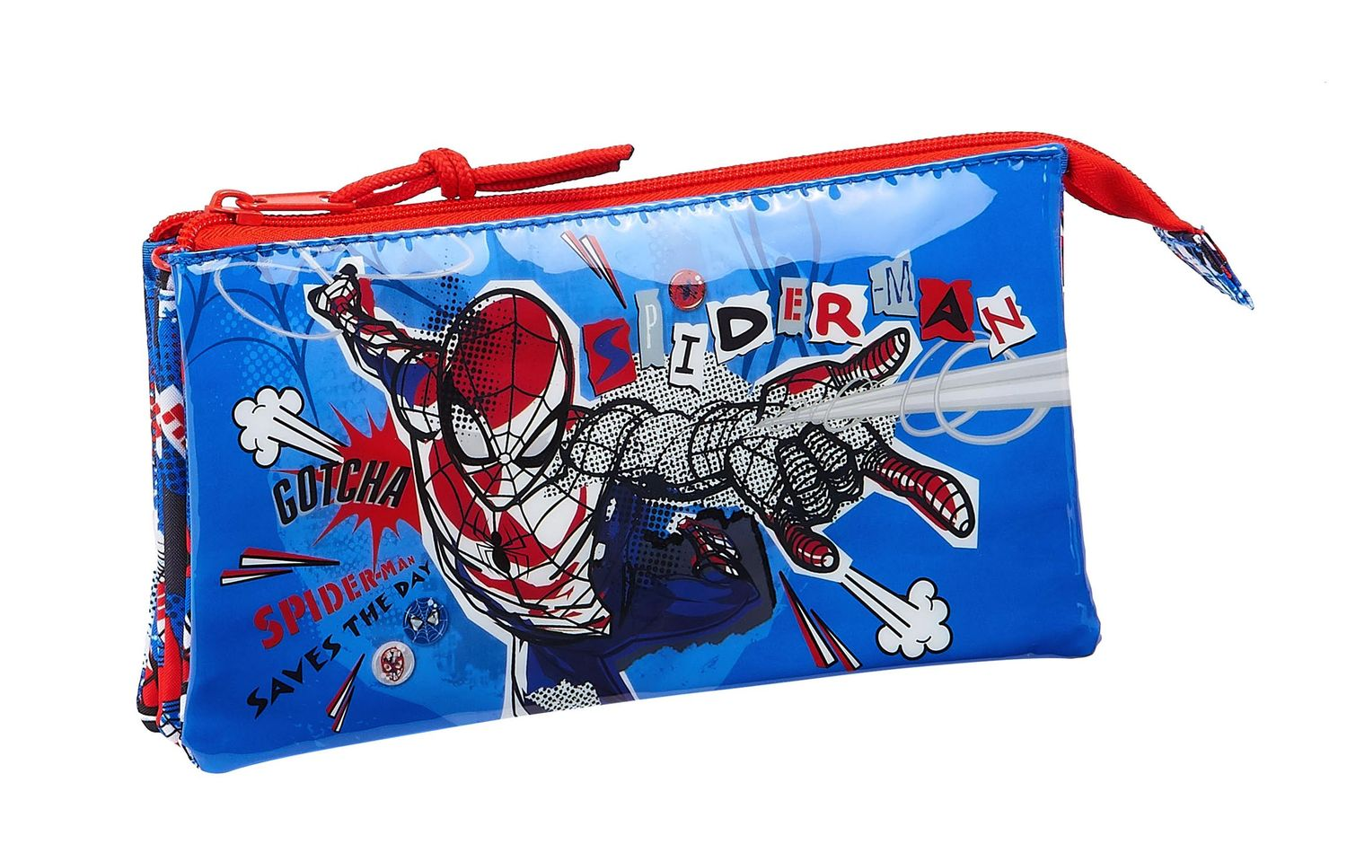 SPIDERMAN PERSPECTIVE Triple Pencil Case – image 1