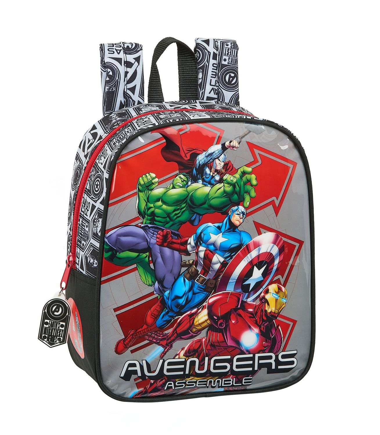 Marvel AVENGERS HEROES Junior Backpack 27cm – image 1