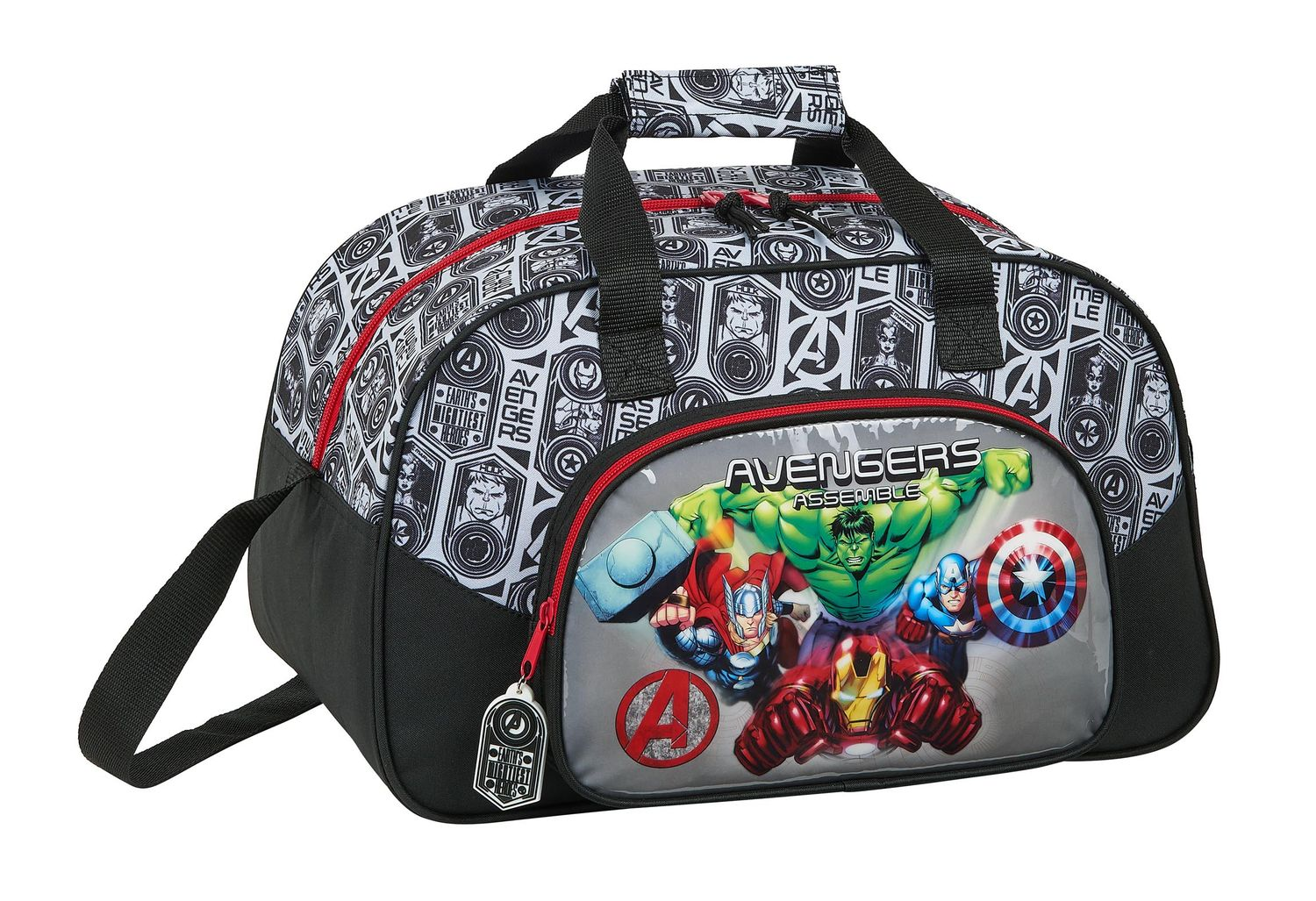 Marvel AVENGERS HEROES Sports Holdall Bag 40cm – image 1