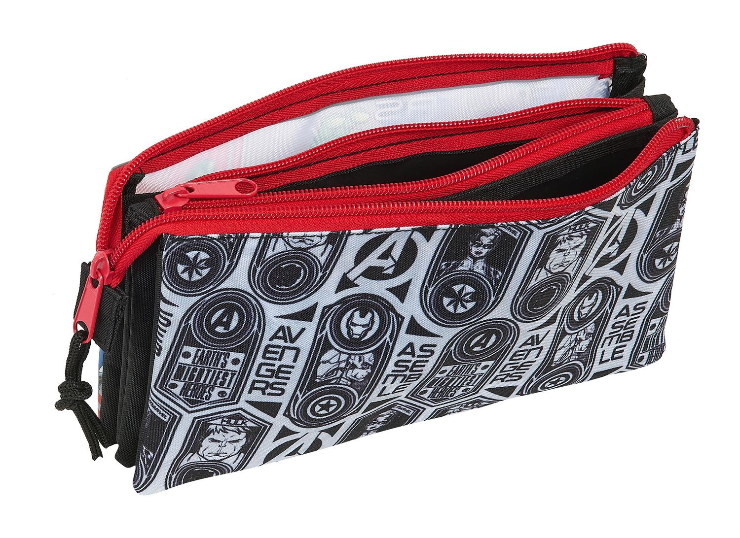 Marvel AVENGERS HEROES Triple Pencil Case – image 2