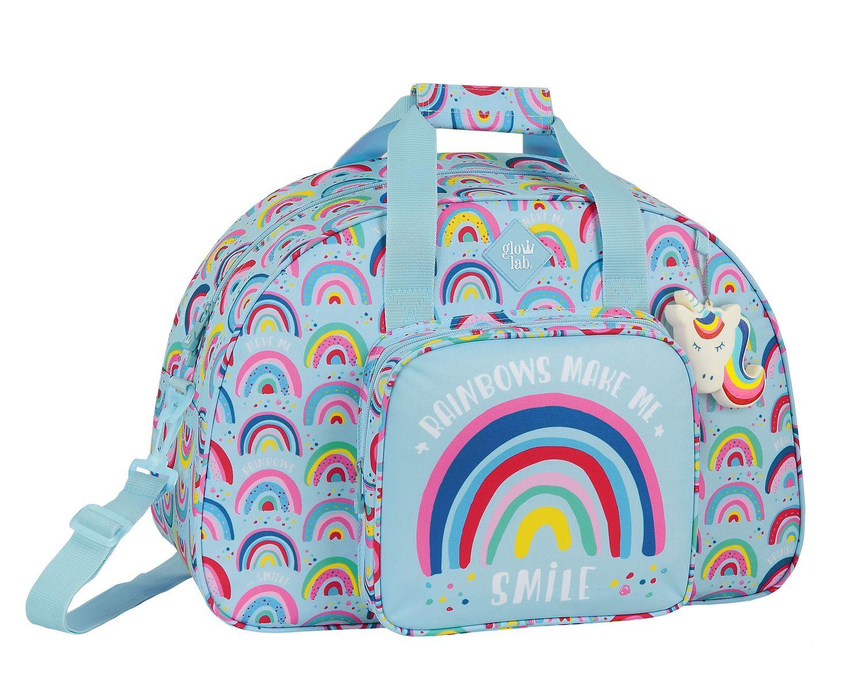 GLOWLAB RAINBOW Sports Holdall Bag 48cm – image 1