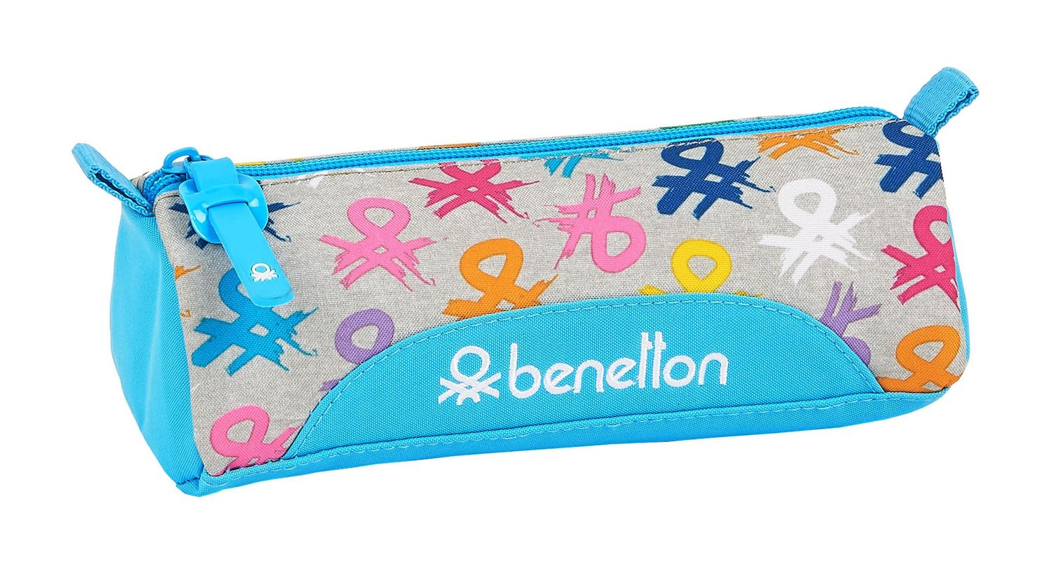 BENETTON LOGO Square Pencil Case – image 1