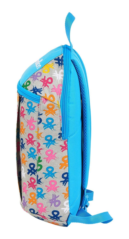 BENETTON LOGO Backpack Rucksack 39cm – image 4