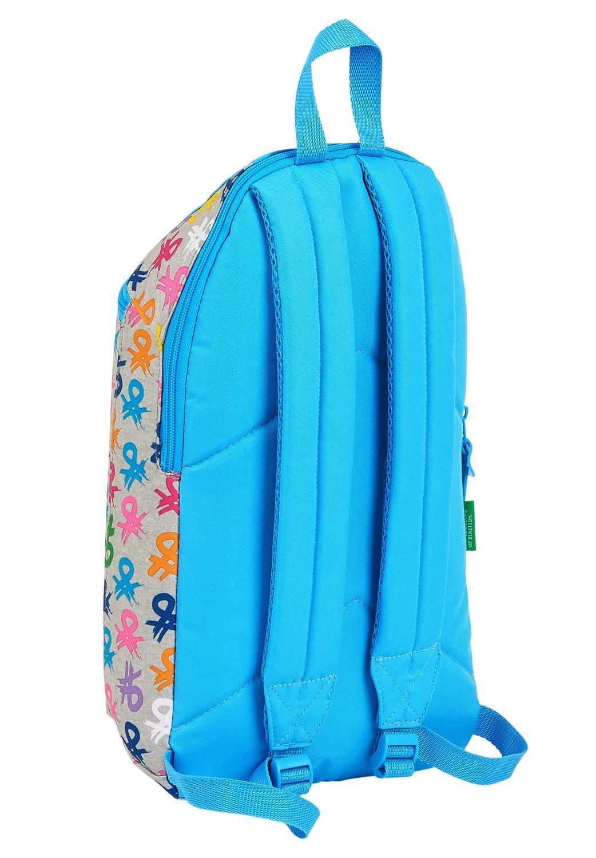 BENETTON LOGO Backpack Rucksack 39cm – image 2