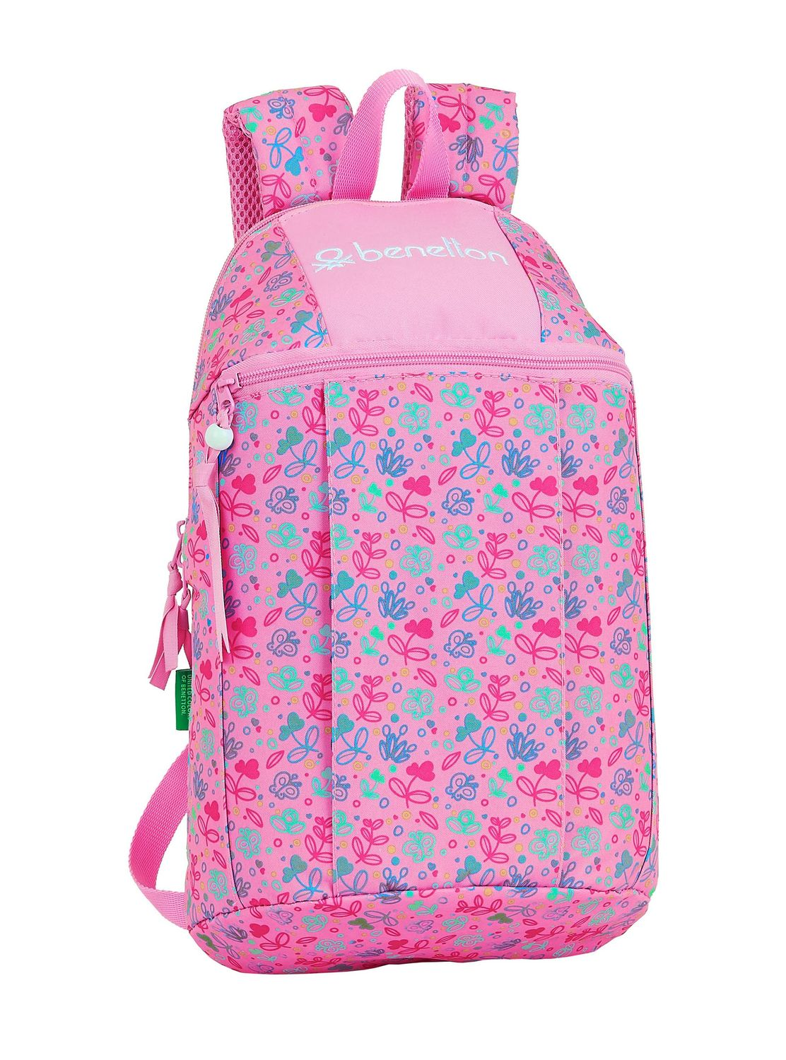 BENETTON BUTTERFLIES Backpack Rucksack 39cm – image 1
