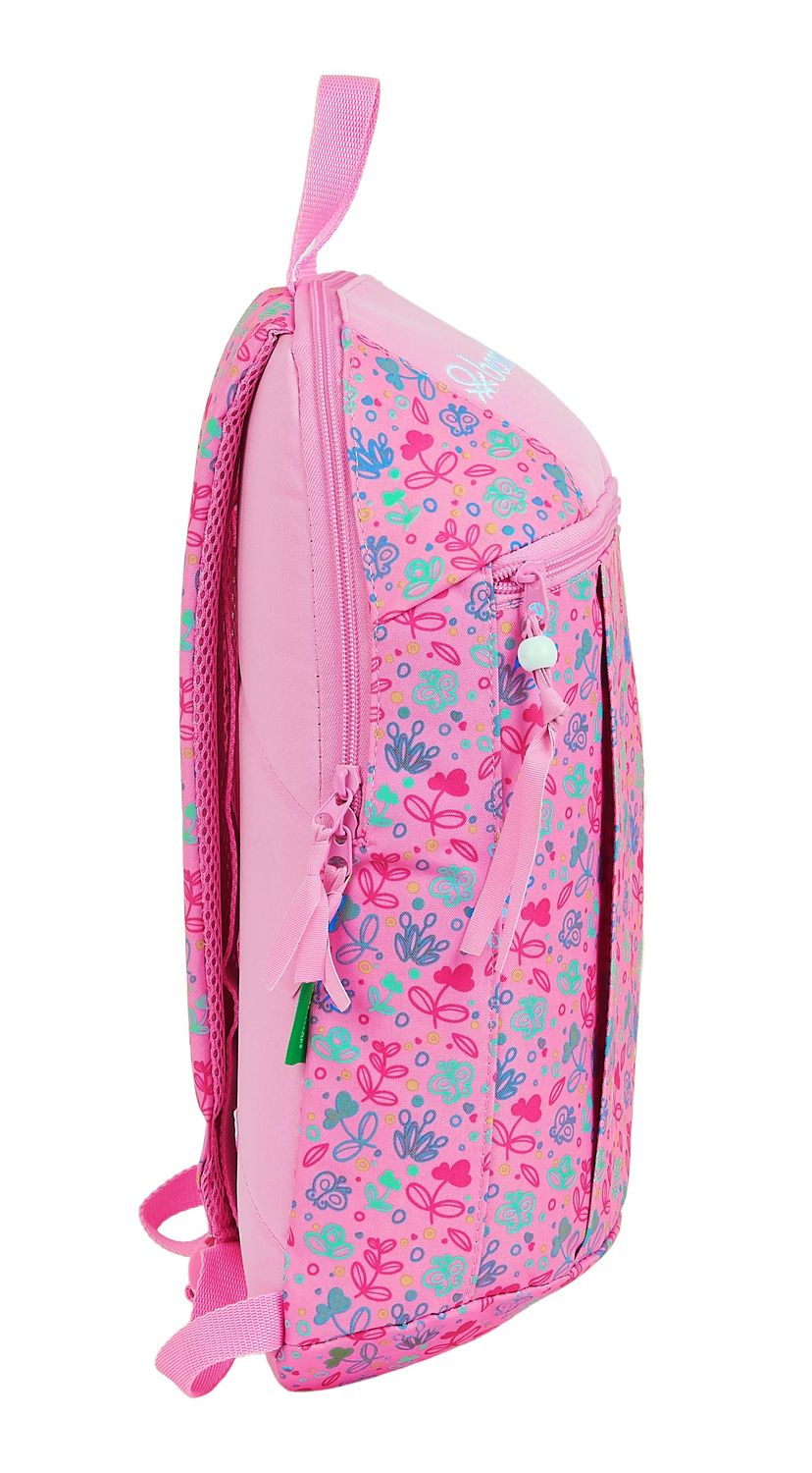 BENETTON BUTTERFLIES Backpack Rucksack 39cm – image 3