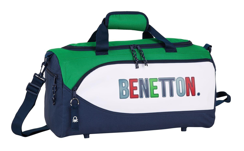 BENETTON 1965 Sports Holdall Bag 50cm – image 1