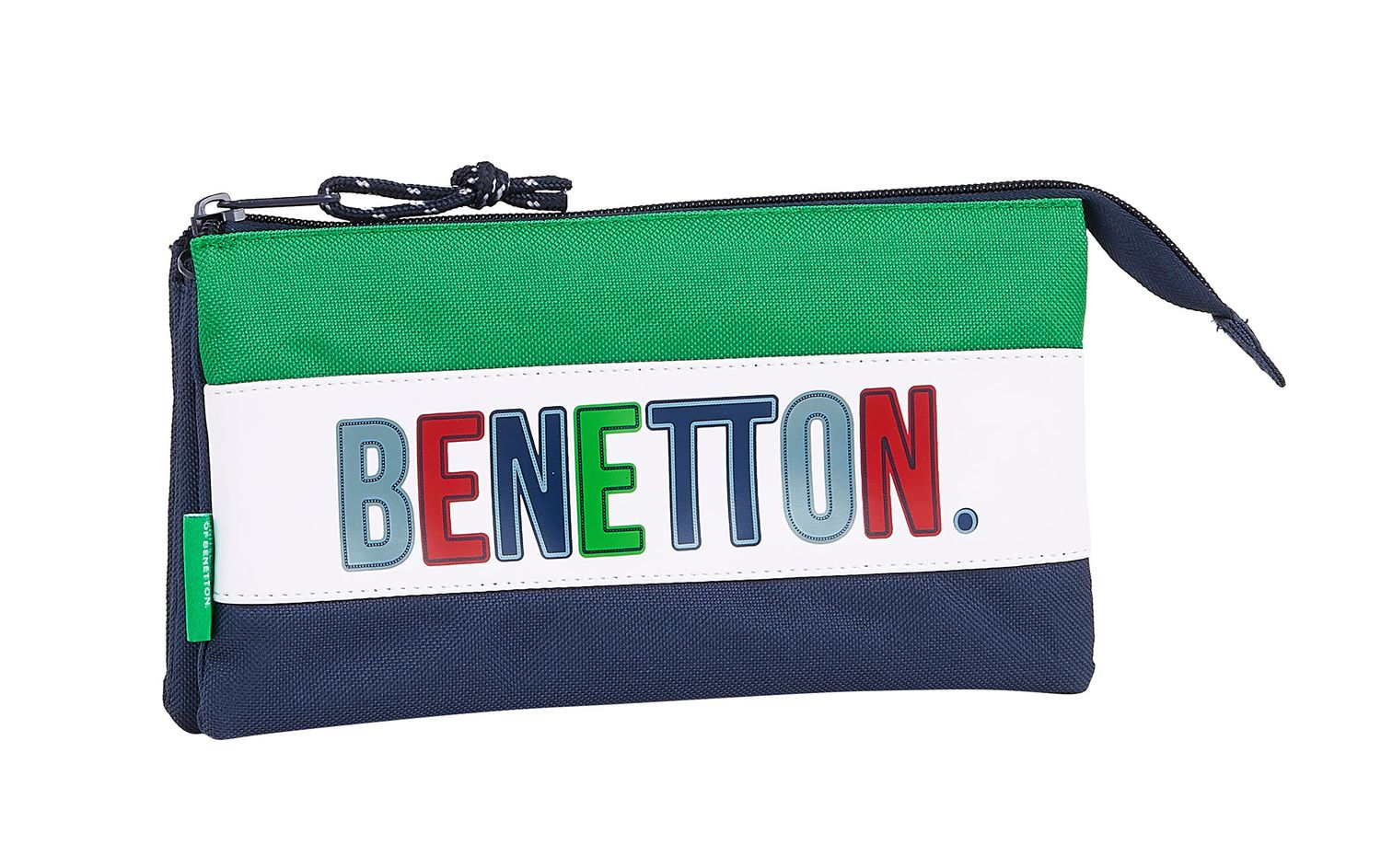 BENETTON 1965 Triple Pencil Case – image 1