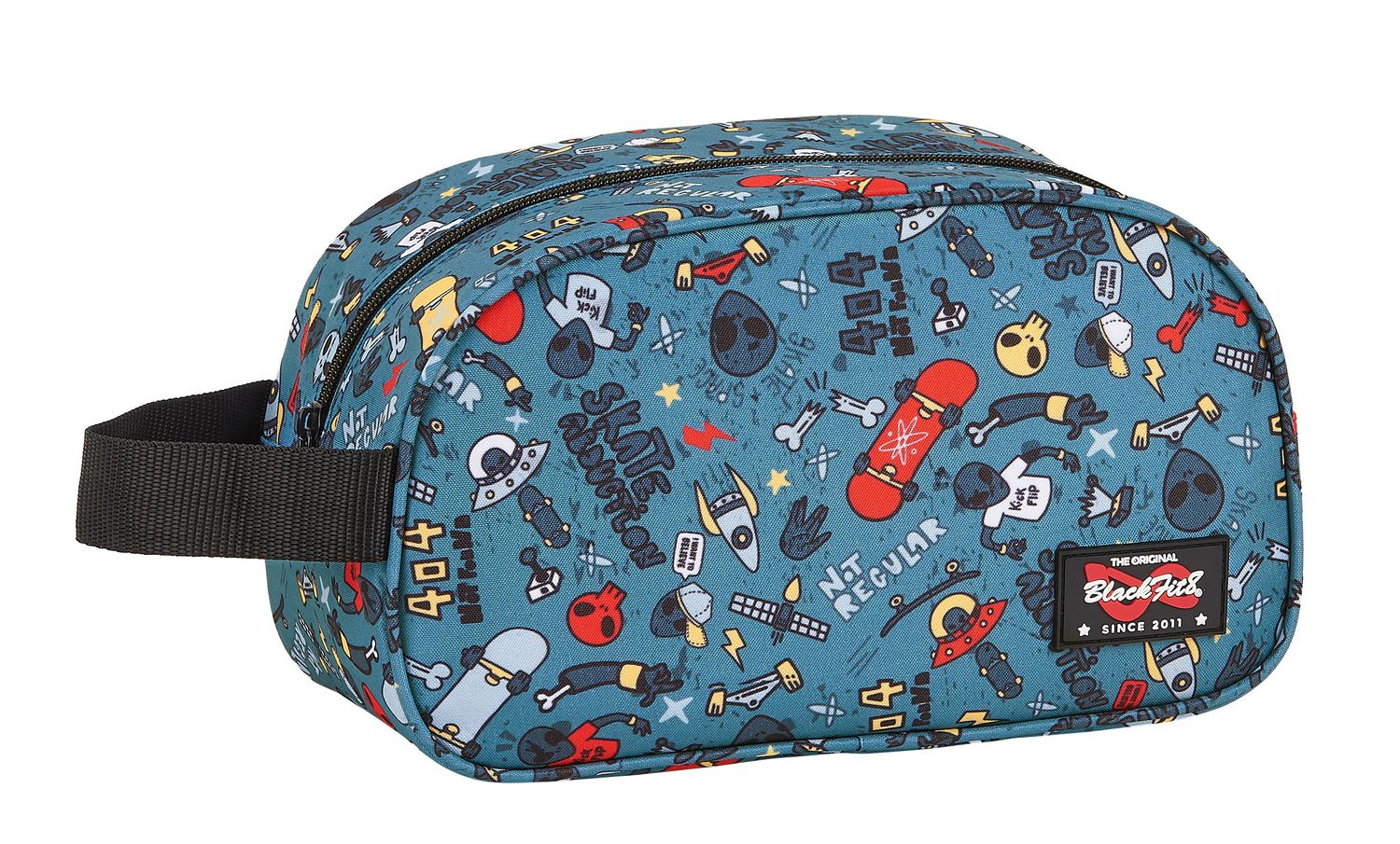 BLACKFIT8 ALIEN SKATE Toiletry Travel Bag – image 1