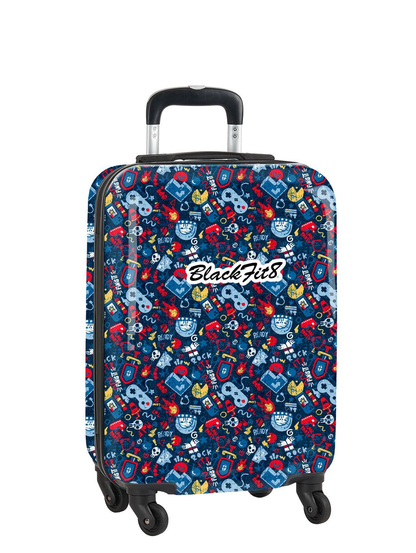 BLACKFIT8 GAMING ABS Hard Shell Cabin Trolley Bag 56 cm  – image 1