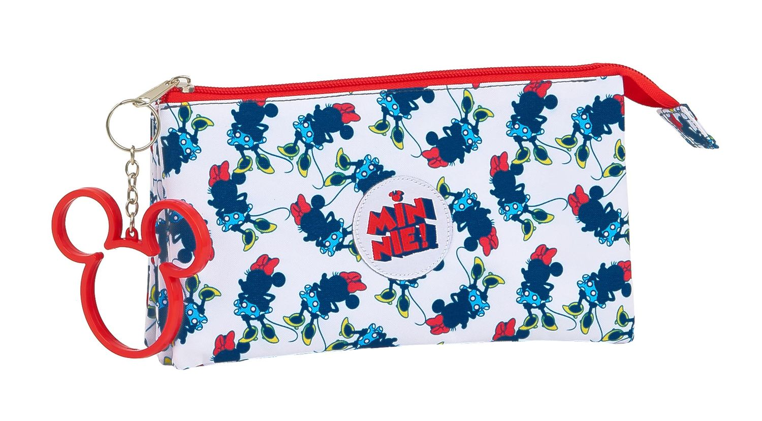 MINNIE MOUSE STYLE Triple Pencil Case – image 1