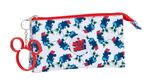 MINNIE MOUSE STYLE Triple Pencil Case 001