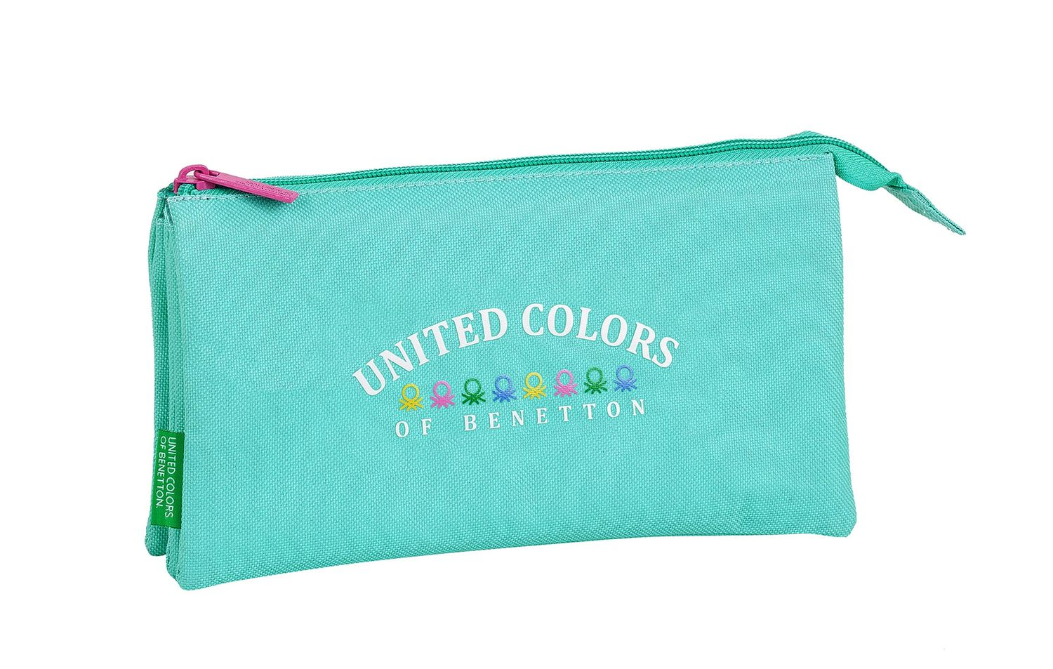 BENETTON GIRL Triple Pencil Case – image 1