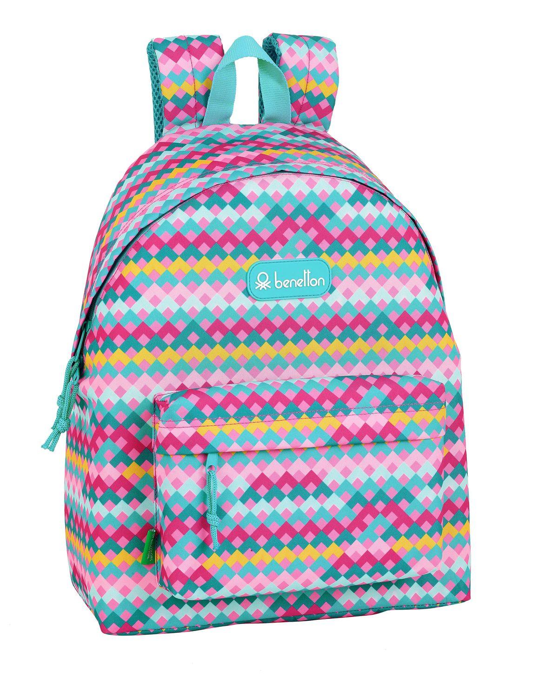 BENETTON ZIGZAG Backpack 42 cm – image 1