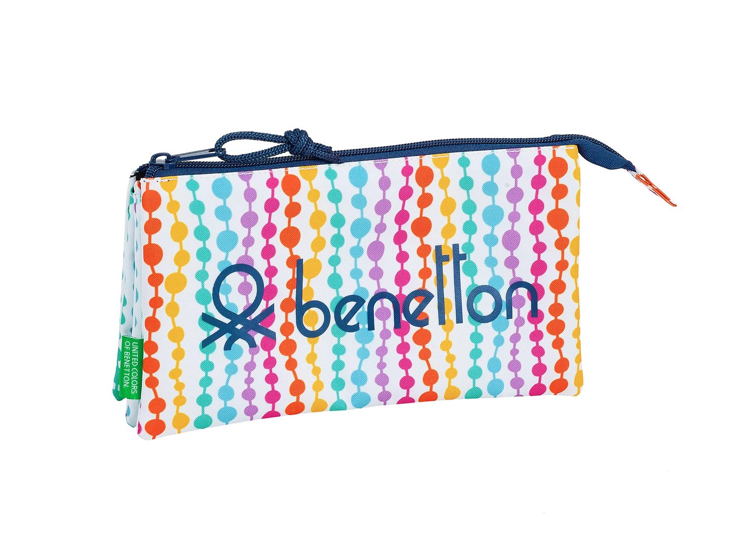 BENETTON PEARLS Triple Pencil Case – image 1