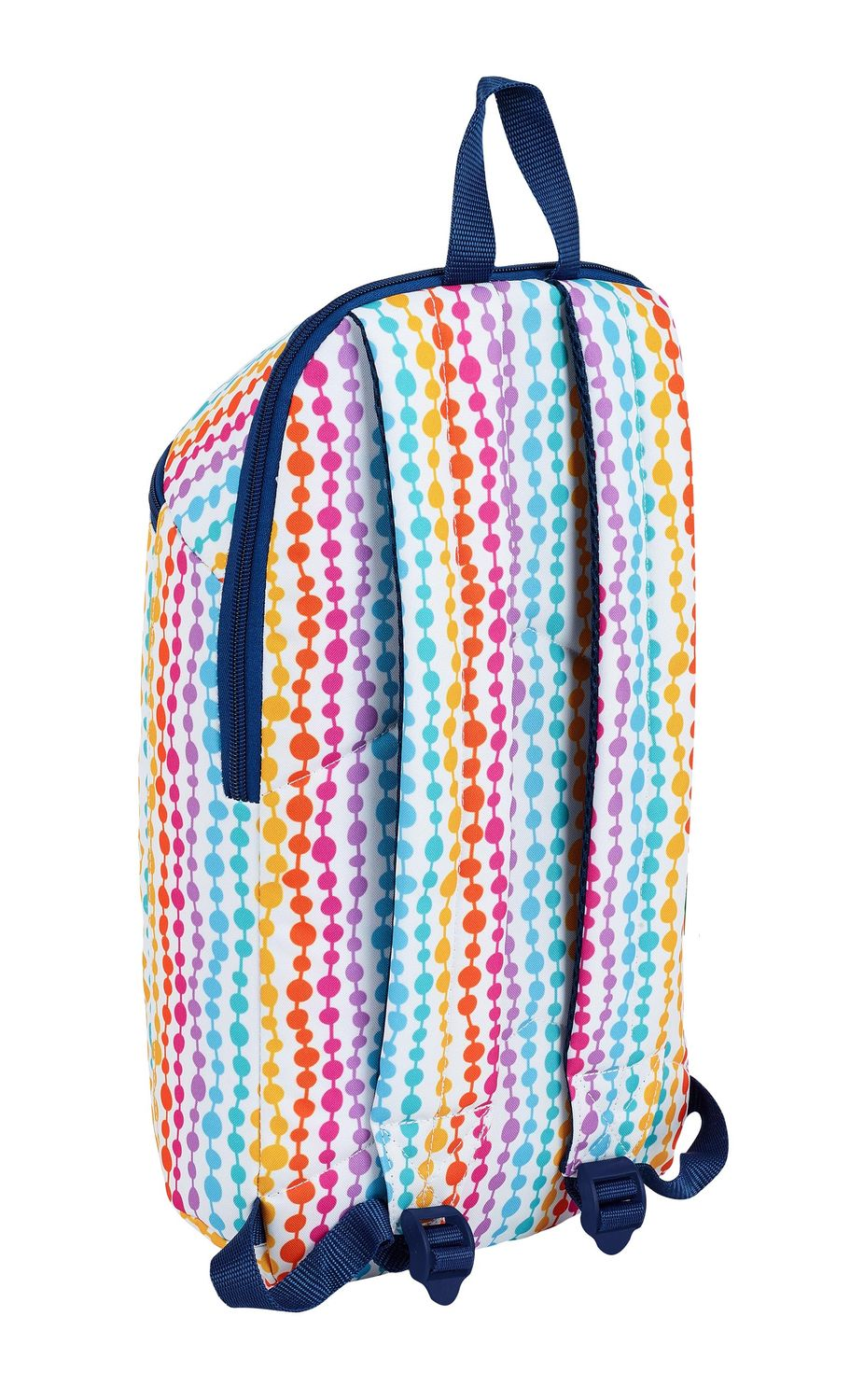 BENETTON PEARLS Backpack Rucksack 39cm – image 2