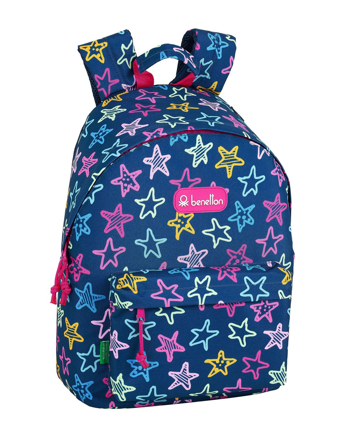 "BENETTON STARS Laptop Backpack 14,1"" 41 cm – image 1"