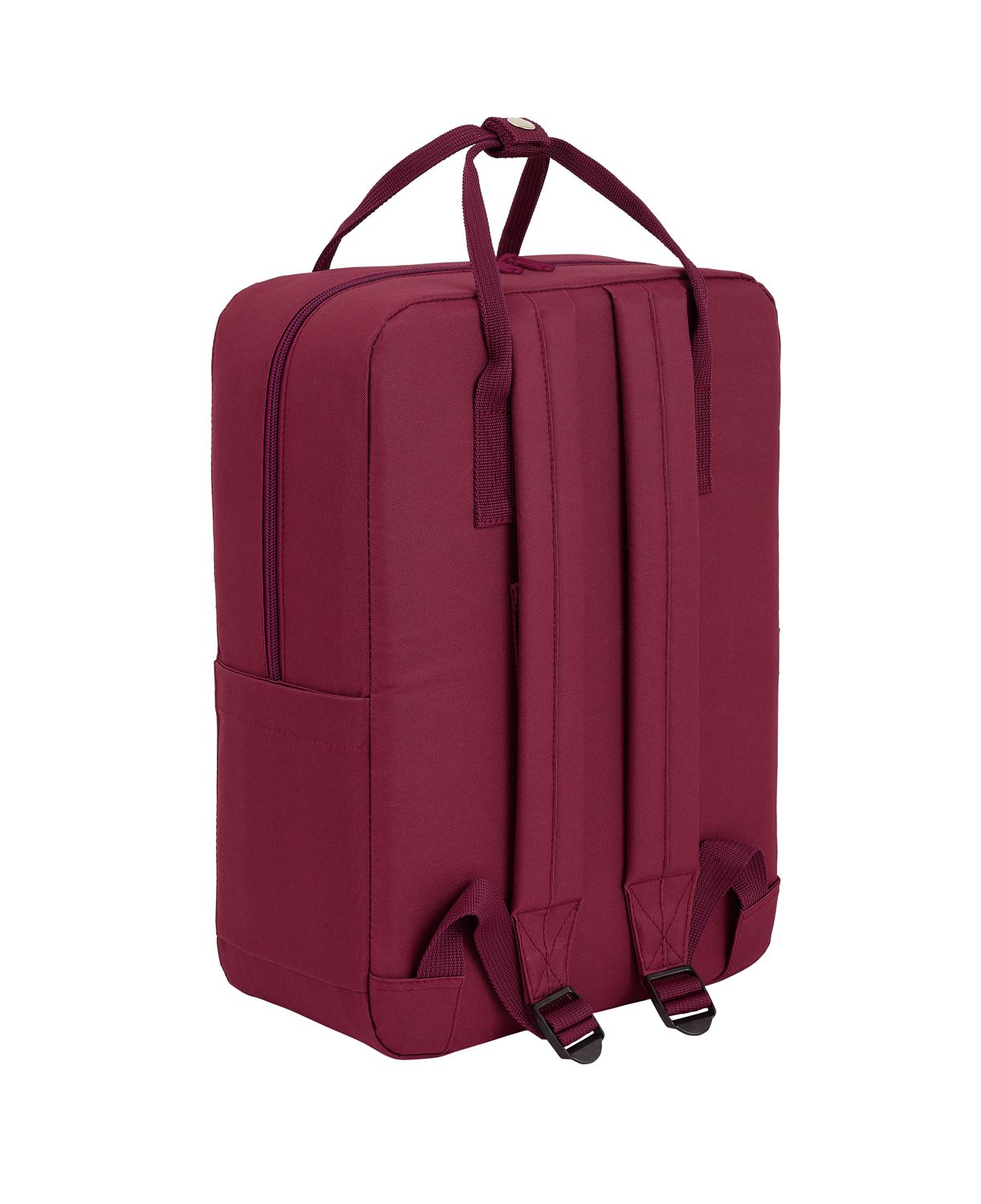 BENETTON BURGUNDY Backpack with handles 38 cm – image 3