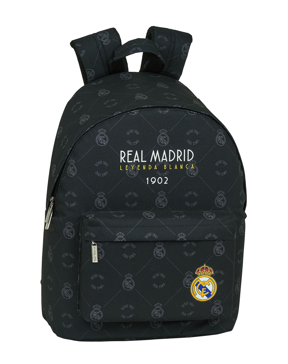 "REAL MADRID BLACK Laptop Backpack 14,1"" 41 cm – image 1"