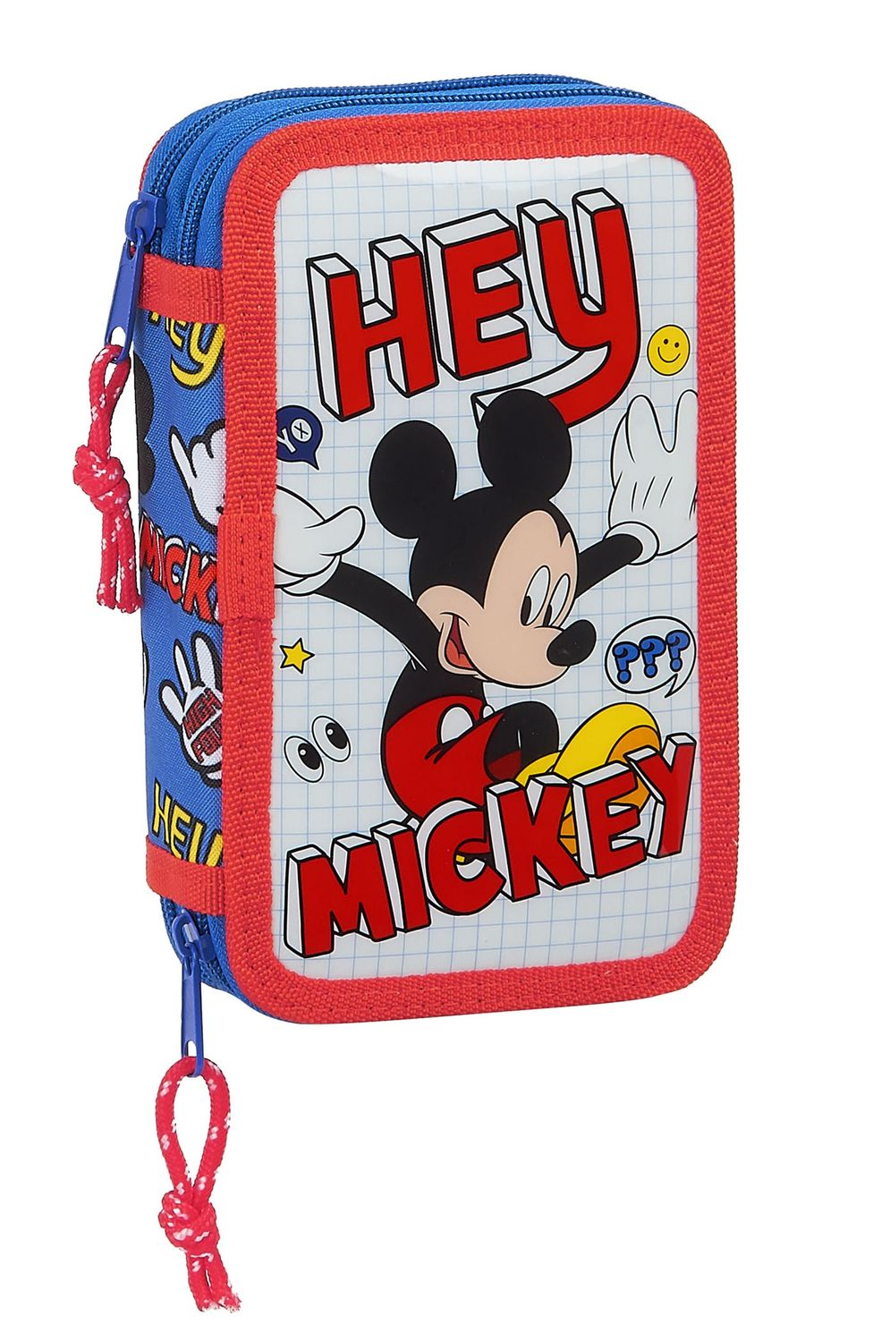 Mickey Mouse THINGS Double Tier Pencil Case Filled with 28 Piece – image 1