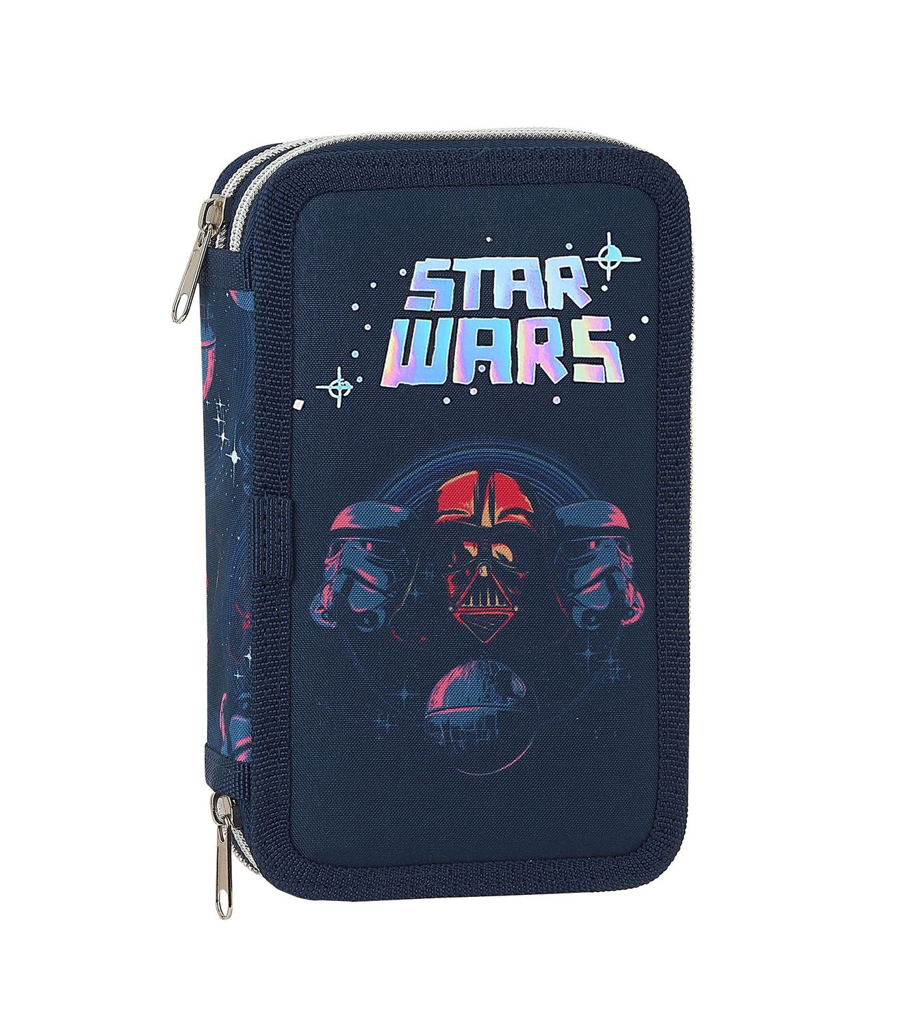 Star Wars DEATH STAR Double Tier Pencil Case Filled with 28 Piece – image 1