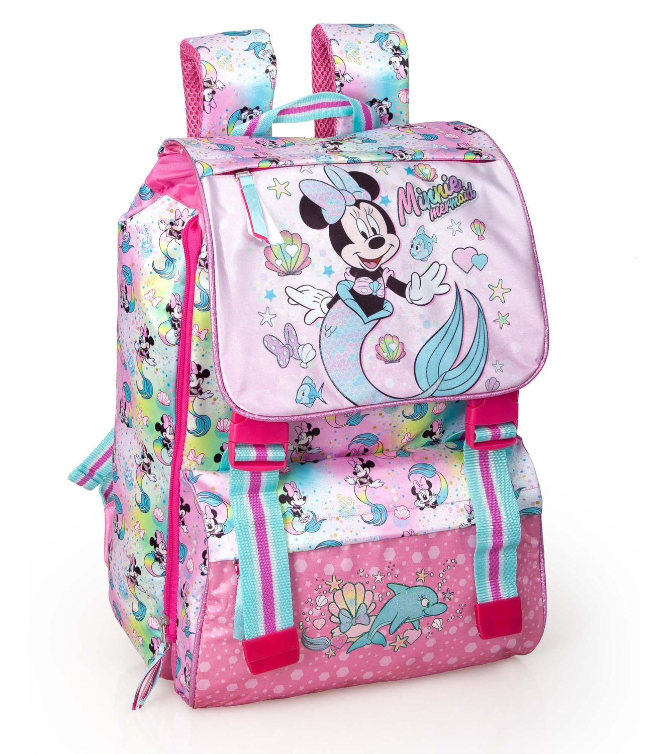 Extensible Backpack MINNIE MOUSE MERMAID – image 1