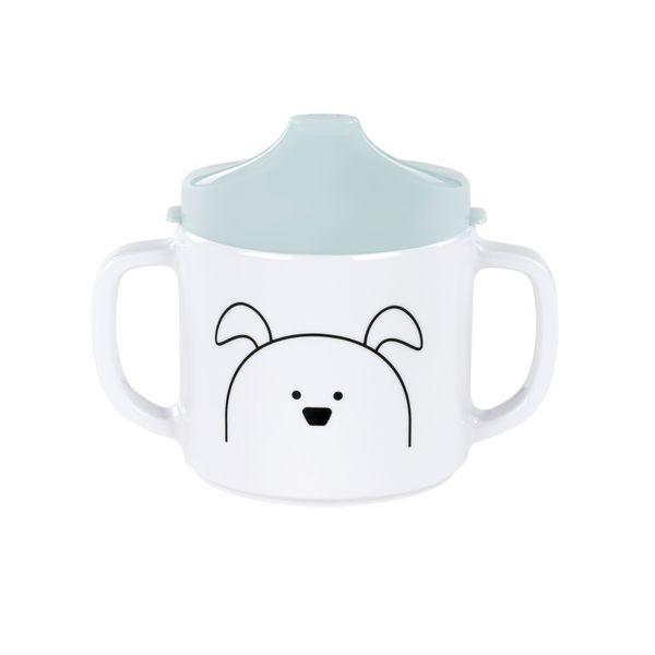 Lässig Schnabeltasse Dish Cup Melamine, Little Chums Dog – Bild 1