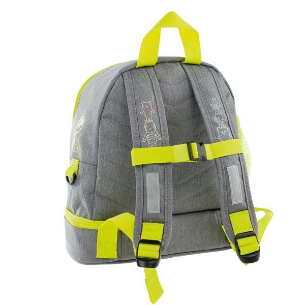 Lässig Kinderrucksack - Mini Backpack, About Friends Mélange Grey – Bild 2