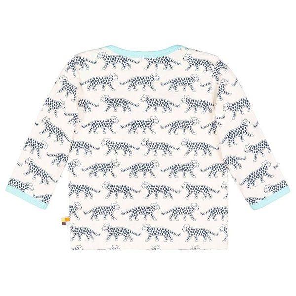 loud + proud Shirt Langarmshirt Gepard Ultramarin – Bild 2