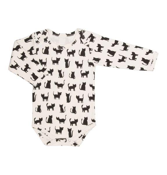 trixie Baby Body Langarmbody Cats