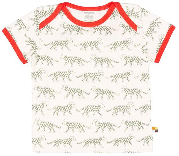 loud + proud Shirt Kurzarm Gepard Olive – Bild 1