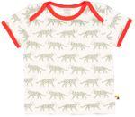 loud + proud Shirt Kurzarm Gepard Olive