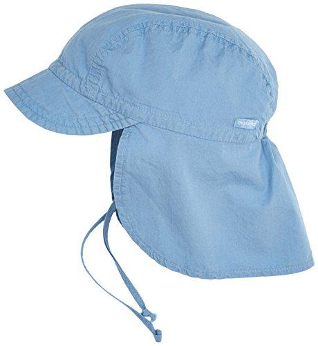 maximo Hut Schildmütze mit Nackenschutz blau