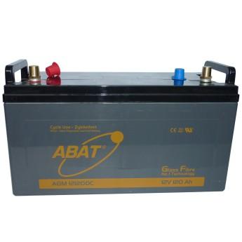 ABAT Hochleistungs-AGM Versorgungs-Batterie 12V 120Ah