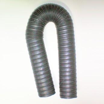 70'er Heissluft-/Heizungs-/Abgas-Schlauch L0,5m x Ø 70mm, max. 125 Grad, schwarz