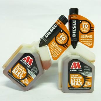 2x Millers Oils DIESEL POWER ECO MAX. DIESEL-SYSTEMREINIGER. 2 x500ml im Doppelpack.