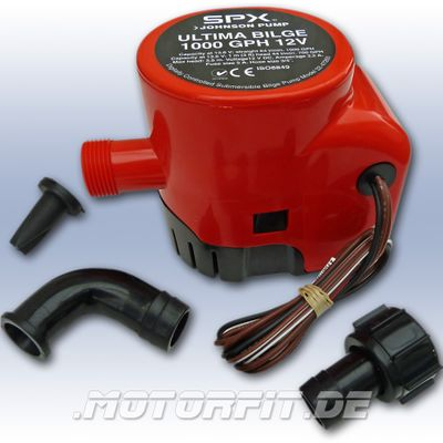 JOHNSON PUMP - Ultima Bilge - Bilgepumpe 1000 GPH