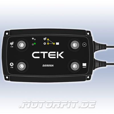 CTEK D250SA - 12V/20A Ladewandler Temp.-Sensor AGM Ladebooster Booster – Bild 1