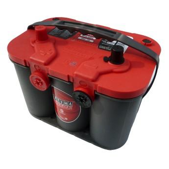 OPTIMA RedTop Starter Profi Batterie RT U 4,2 Motorsport+Wohnmobile 12V-50Ah - 815A