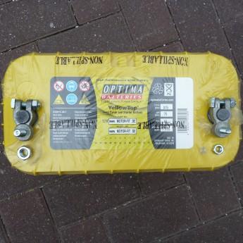 Batterieklemmen / Polklemmen Kit +Pol mit M8 Anschluss -Pol mit M6 Anschluss