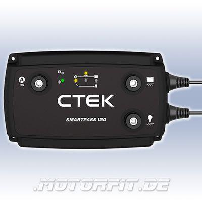 CTEK SMARTPASS 120 - 12V 120A passend für CTEK D250SA Ladewandler