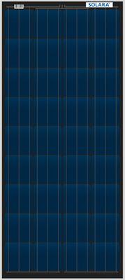 100W++ CENTROSOLAR SOLAR PANEL - ~400Wh pro Tag - S405M36 1237x557x40mm silber Alu-Rahmen