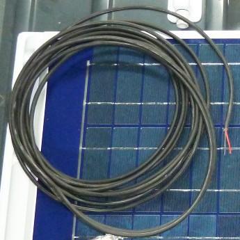 Solarkabel 1m - 2 adrig - 2x2.5qmm - Spezialkabel