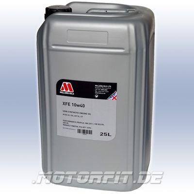 MILLERS XFE 10w40 Dieselmotorenöl, teilsynthetisch - 25L Kanister